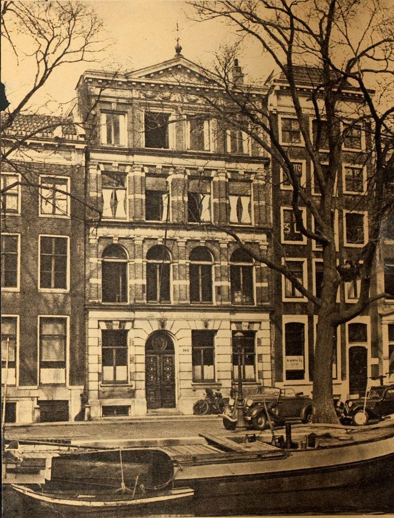 Keizersgracht 162, foto ca. 1940 (Fotocollectie Protestants Erfgoed | HDC, VU).