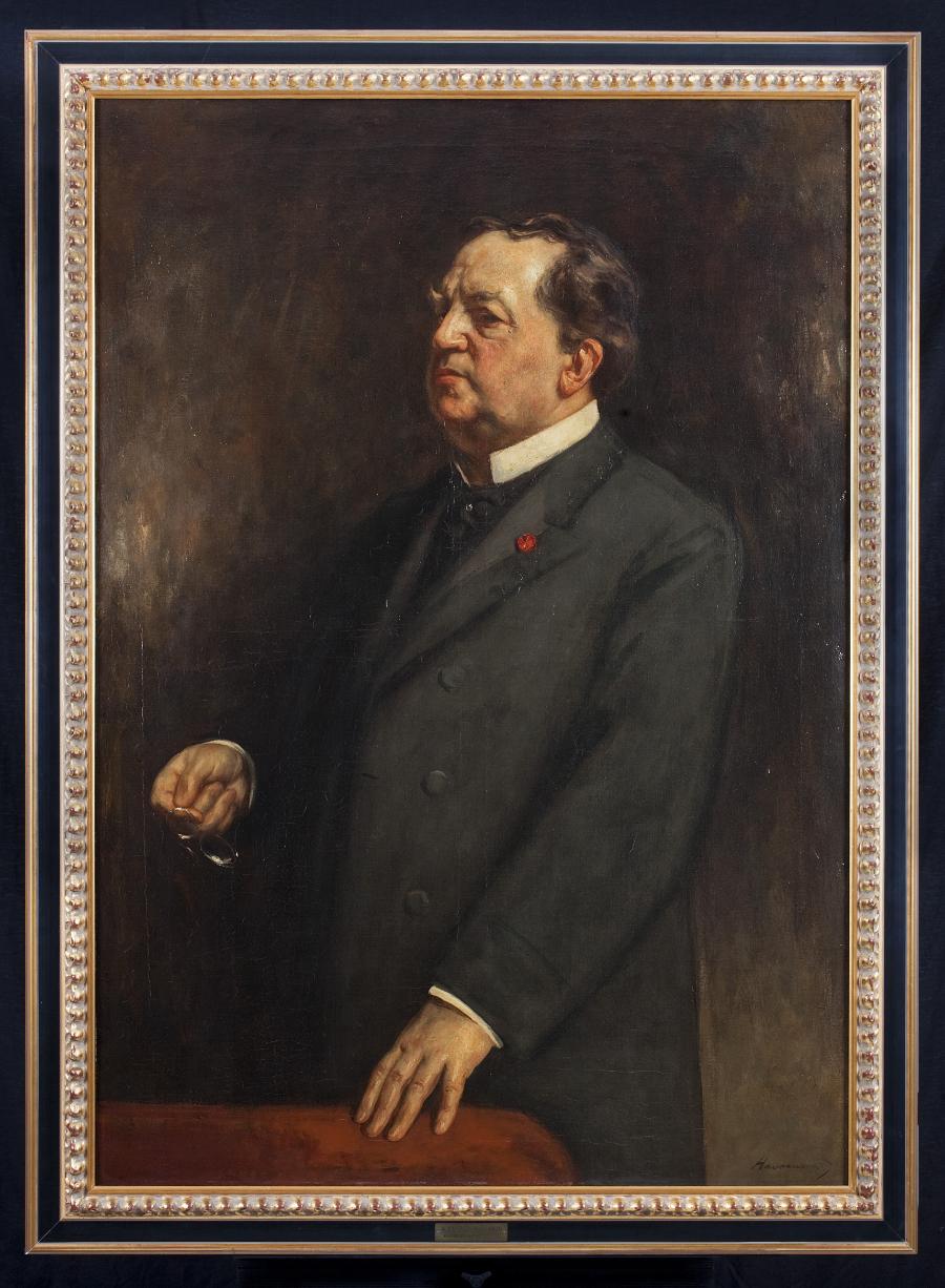 Hendrik Haverman, Abraham Kuyper, 1906, olieverf op doek (Foto: René den Engelsman, VU erfgoed en collecties).