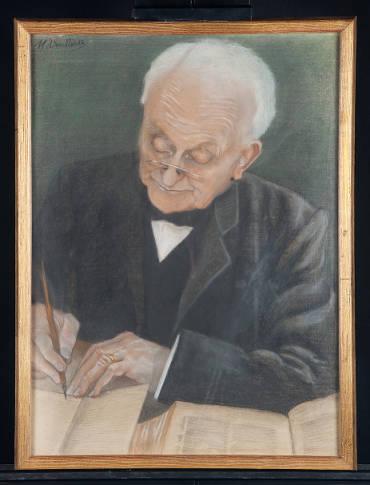 Willem Hovy (1840-1915), door Martha Amalia Voullaire (1856-1932). (Foto: René den Engelsman, VU erfgoed en collecties)