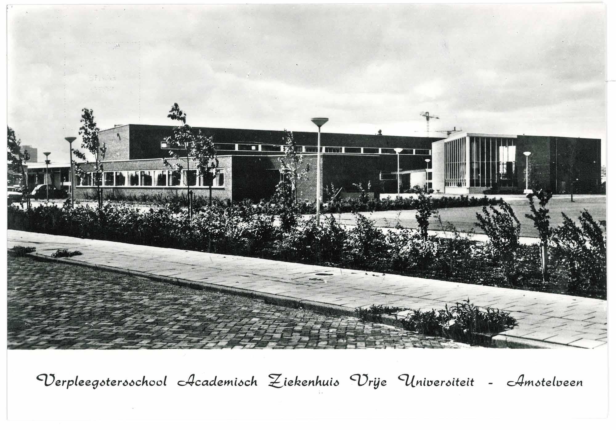 Verpleegstersschool van het Academisch Ziekenhuis der Vrije Universiteit.